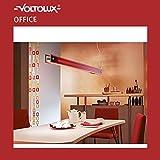 Pendelleuchte Evotec COLOUR-LINE 1.442mm ROT Leuchte inkl. Leuchtmittel 093602