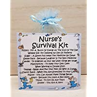Nurse's Survival Kit - A Unique Fun Novelty Gift & Keepsake !