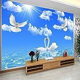Fotomurales Personalizado Foto Papel de pared 3D Pintura de pared Sala de estar Sofá Tv Fondo de pantalla Decoración para el hogar Mural 3D 3D 450X300cm