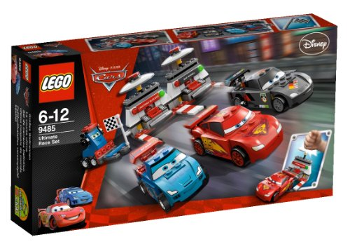 LEGO Cars 9485 - Set de carreras definitivo