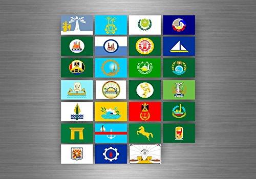 Akacha Aufkleber sticker set bundesstaat lander flagge flaggen stempel fahne ägypten