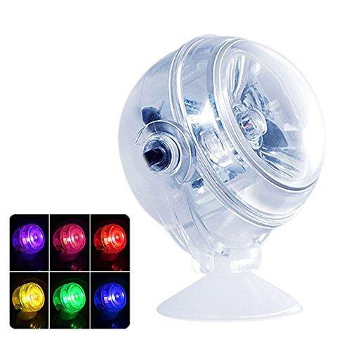 Rokoo 728/5000 Aquarium LED Beleuchtung Wasserdichte Unterwasserscheinwerfer Marine Nacht / Tauchen Licht Aquarium Lampe Dekoration Zubehör (Tauchen Tanks)
