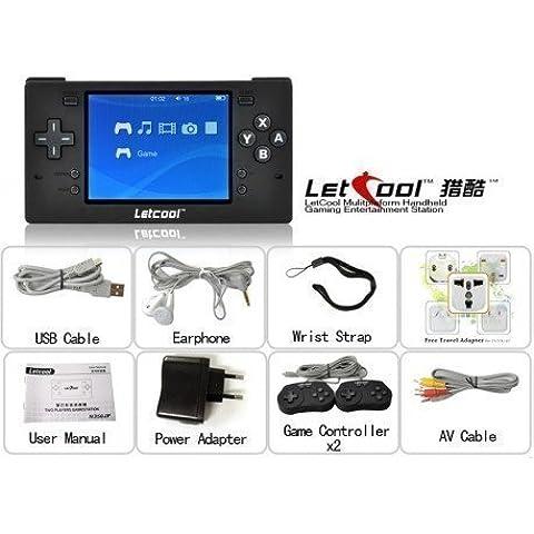 Letcool N350JP Pocket retrogame Free Video Juegos Consola + 2 gamepad incluido