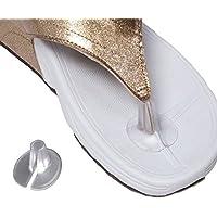 Lot de 3paires de coussinets de protection en silicone pour orteils - Pour tongs et sandales - Par HugeStore