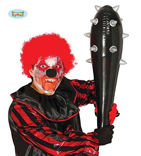 516 - aufblasbarer schwarzer Hammer 180 cm (Kind Aufblasbarer Clown Kostüme)
