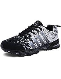 0612b529b61c3b SOLLOMENSI Men Women Sports Shoes Running Sneakers Trainers Air Cushion  Fitness Athletic Walking Gym