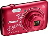 Nikon Coolpix A300 Kamera rot ornament