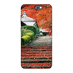 Stairs Garden Multicolor Back Case Cover for HTC One A9