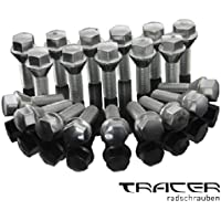 20Tornillos de Rueda Rueda Pernos M12x 1,2528mm cono cintura 60° PE