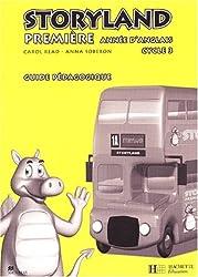 Anglais 1ère année Cycle 3 Storyland. Guide pédagogique, avec flashcards