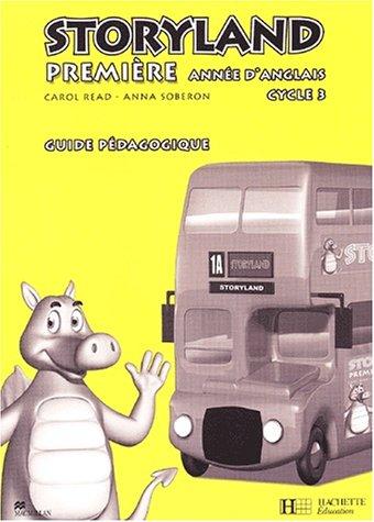 Anglais 1ère année Cycle 3 Storyland. Guide pédagogique, avec flashcards - Ds Flashcard
