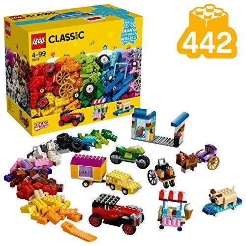 LEGO Classic - Mattoncini su Ruote, 10715