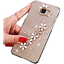 Sunroyal® Ultra Sottile Bling Duro Back Custodia per Samsung Galaxy