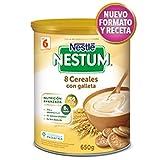 NESTUM papilla 8 Cereales con Galleta, lata 650gr.