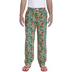 Jack & Jones Men's Cotton Pyjama Bottom (5713441261071_1834585003_L_Greenlake)