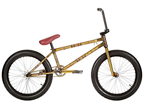 STEREO BIKES FLASH 2016 BMX RAD   STONE TEMPLE TRANS BRASS | ORO FX CLEAR | 21 2