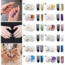 Polvere effetto specchio per unghie - Polvere effetto specchio unghie ...