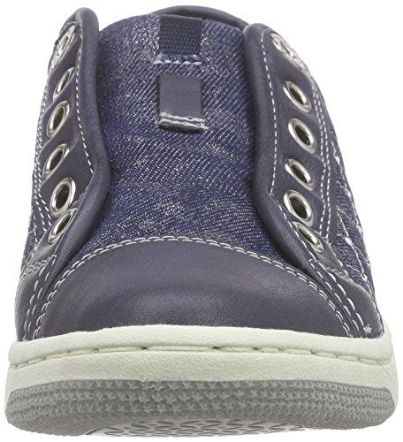Geox Jr Creamy D, Sneakers Hautes fille Bleu (C4002)