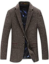 d2272fe7c84cb Homme Blazer Vestes de Costume Casual Slim Fit Manteau Mens Smart Dîner  Formel Veston Classique Affaires