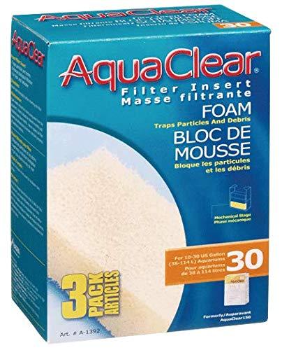 Generico-Nuovi 12 Filtri in Spugna Pad adatta a Aqua Clear 20 Mini AquaClear 12 pezzi inclusi