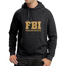 Sudadera con Capucha Inspector del Cuerpo Femenino - FBI - Citas de la Broma, Lemas