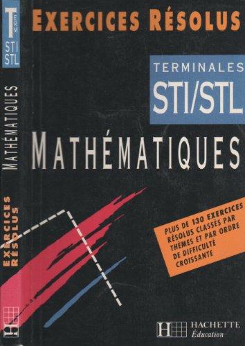 Mathématiques, terminales STI-STL