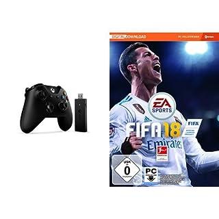 FIFA 18 - Standard Edition - [PC] + Xbox Controller + Wireless Adapter für Windows