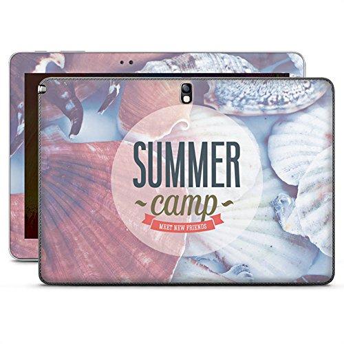 DeinDesign Samsung Galaxy Note 10.1 2014 Edition Case Skin Sticker aus Vinyl-Folie Aufkleber Sommer Urlaub Springbreak