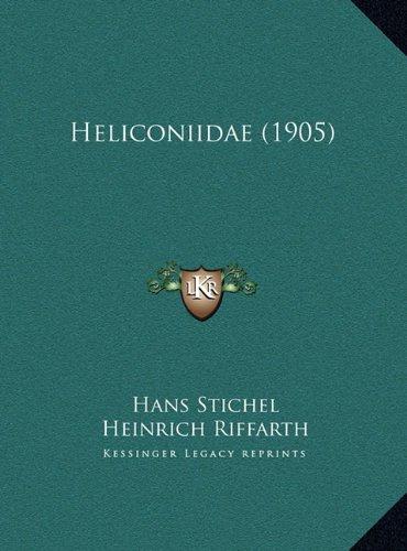 Heliconiidae (1905) Heliconiidae (1905)