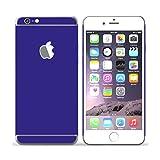 stika.co Vinilo Autoadhesivo de Color Azul Oscuro, 3 Piezas para Apple iPhone 6 / 6S de 4,7 Pulgadas.
