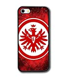 Cover / Case für iPhone 5s SE & Eintracht Frankfurt Hülle iPhone 5 Handy SchutzHülle Olivedes®, Football Team Logo ( Spieler ) - Eintracht Frankfurt ( FC ) Modisch Vintage Retro Handy Hülle