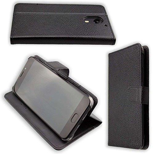 caseroxx Hülle / Tasche Bookstyle-Case UMI UMIDIGI Plus Handy-Tasche, Wallet-Case Klapptasche in schwarz