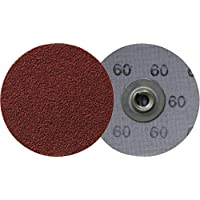 Klingspor QMC 412 - Lote de discos de cambio rápido (100 unidades, 50 mm, grano 240)