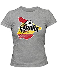 España Campeonato de Europa 2016#1 Camiseta | T-Shirt | Fútbol | Mujer