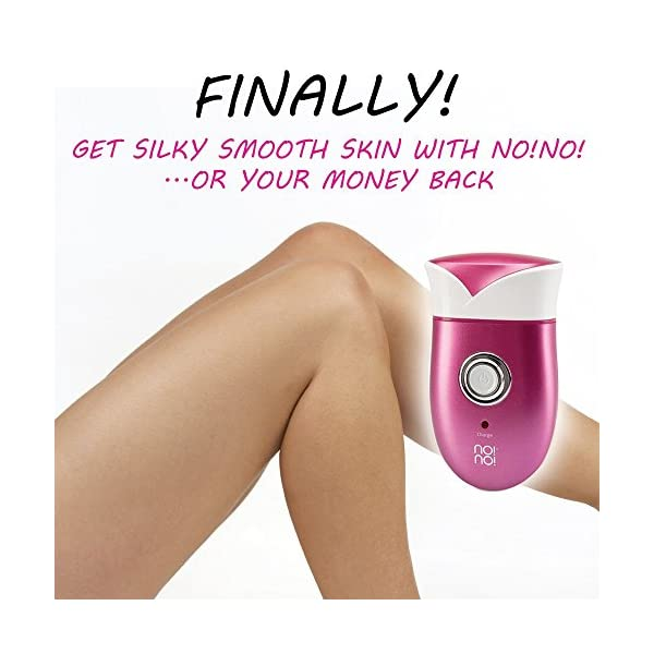 Nono Cordless Lady Shaver Electric Hair Removal Device For Women Body Trimmer For Smooth Arms Legs Bikini Line Waterproof Lasts For 30 Minutes On One Charge UK 3 Pin Plug