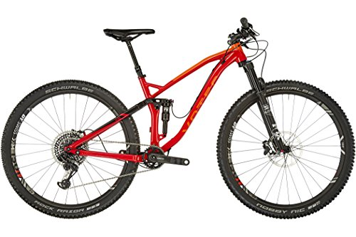 "VOTEC VXs Elite - Tour/Trail Fully 29"" - red/black Tamaño del cuadro XL / 51cm 2018 MTB doble suspensión"