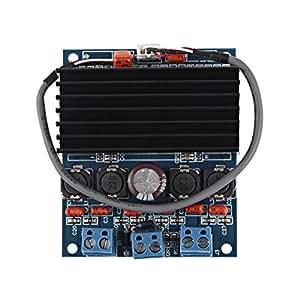 Barsoom TDA7492 Amplificateur DIY avec Radiateur 2x50W Classe D Numérique Board AMP