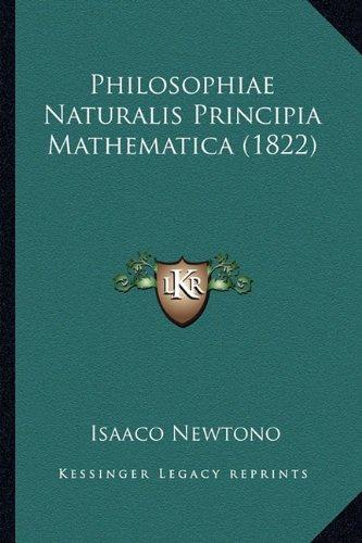Philosophiae Naturalis Principia Mathematica (1822)