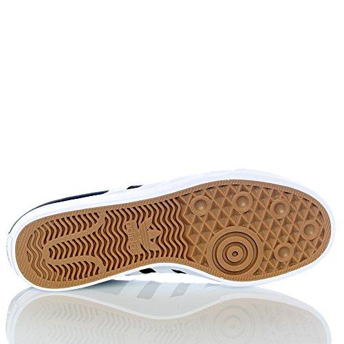 adidas Adi-Ease Premiere, Scarpe da Skateboard Uomo Nero (Negbas/Ftwbla/Gum4)