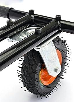 """Hoverkart - Aufhängung Mit Off Road Reifen -Für Alle Hoverboard Und Self Balance Scooter (6,5"""" 8.0"""" 10"""") Gokart Hoverseat 2"""
