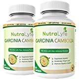 Nutralyfe 100% Natural & Herbal Garcinia Cambogia Extract 70% (Hca) For Fat Burn - 60 Capsules (Pack Of 2)