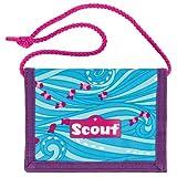 Scout 25160070300 Brieftasche Fahrausweishülle, Blau
