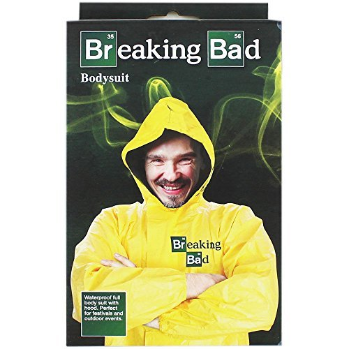 Breaking Bad Gelb Body Anzug Walter White Heisenberg Erwachsene (Kinder Breaking Bad Kostüme)