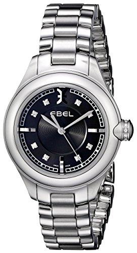 EBEL Women's 1216093 Onde Analog Display Swiss Quartz Silver Watch