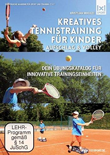 Kreatives Tennistraining für Kinder - Aufschlag & Volley