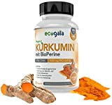Curcumin mit Bioperine® 1000mg - 120 Eco Gaia Kurkumin Kapseln