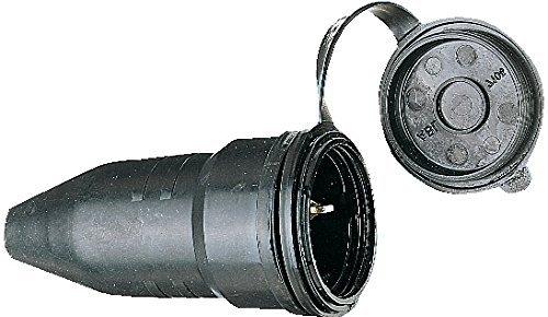 Brennenstuhl Schutzkontakt-Gummikupplung 230V/16A IP44, 1082050