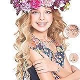 ZHUOFU DIY Christmas Advent Calendar Bracelet Necklace set with 22 Charms Fashion Jewelry Countdown for Kids