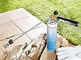 Piezo Abflammgerät Unkrautvertilger Weed Killer biologische Beseitigung BG 500 2,5 bar Brenner mit 1xGaskartusche