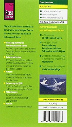 Reise Know-How Wanderführer Sarek - Trekking in Schweden: Alle Infos bei Amazon